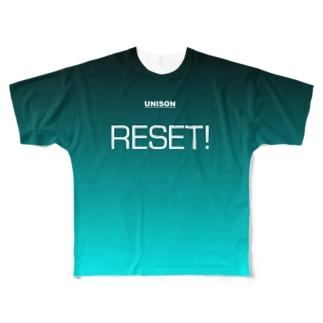 UNISON Practice TYPE/E Full graphic T-shirts