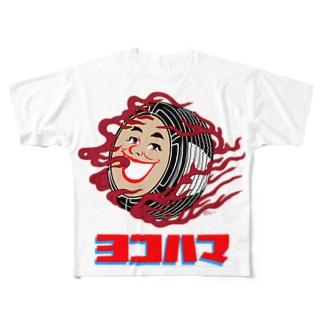 ヨコハマ Full graphic T-shirts