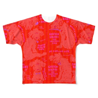 Golden Doodle is the Perfect  Full graphic T-shirts