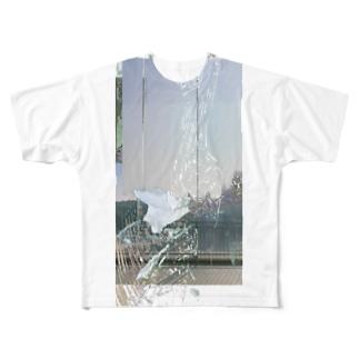 阨/seek. Full graphic T-shirts