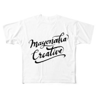 真夜中クリエイティブ Full graphic T-shirts