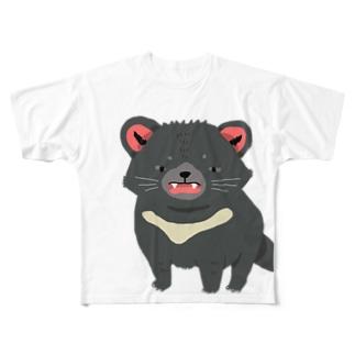 タスマニアデビルくん Full graphic T-shirts