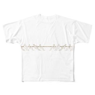 綱引き  Full graphic T-shirts