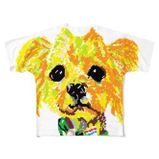 愛犬自己満足 Full graphic T-shirts
