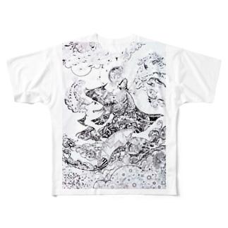 息吹の花 Full Graphic T-Shirt