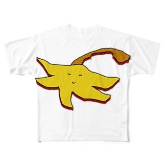 ハンディモップくん・秋仕様2 Full graphic T-shirts
