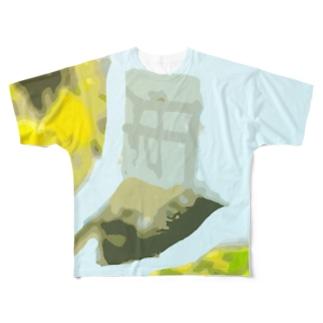 サン・ファン・バウティスタ Full graphic T-shirts