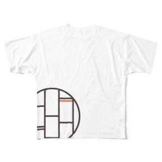 キョウ ノ ヨリミチ Full graphic T-shirts