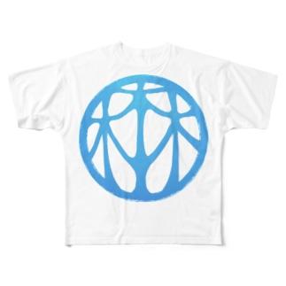HARUYASU Full graphic T-shirts