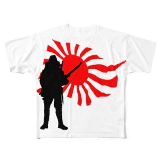 英雄の影#1 Full graphic T-shirts