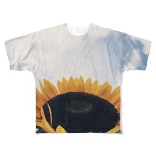 himawariphoto Full graphic T-shirts