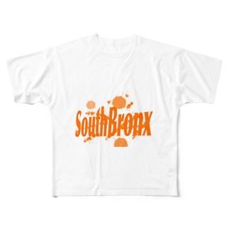 サウスブロンクス Full graphic T-shirts