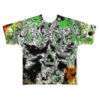 ラビリンス 戒 Full graphic T-shirts