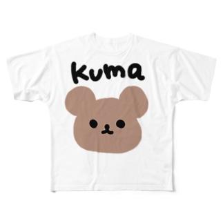 kuma Full graphic T-shirts