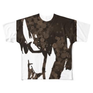 girls Full graphic T-shirts