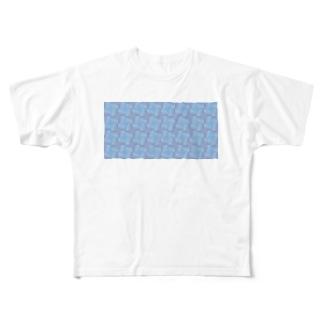 淡虹_A_長 Full graphic T-shirts