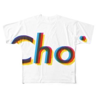 ちょいなびーらぶど。 Full Graphic T-Shirt