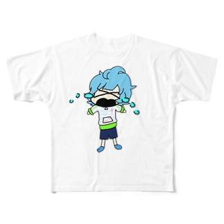 E〜Nシリーズ 数ノ子 Full graphic T-shirts