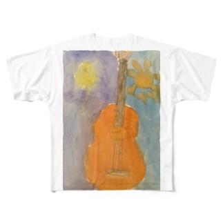 昼夜ちゃん Full graphic T-shirts