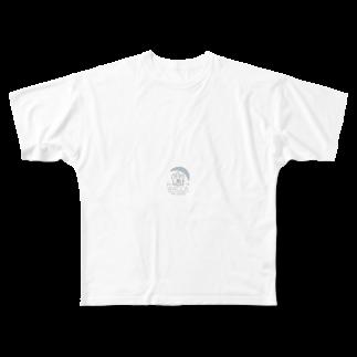 #かわいい鉱物のワッカドット Full graphic T-shirts