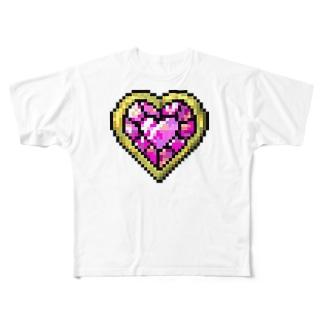 ♡ 変身ブローチ ♡ Full graphic T-shirts