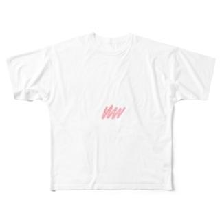 HUHUHUU〜 Full graphic T-shirts
