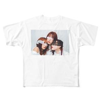 横 Full graphic T-shirts