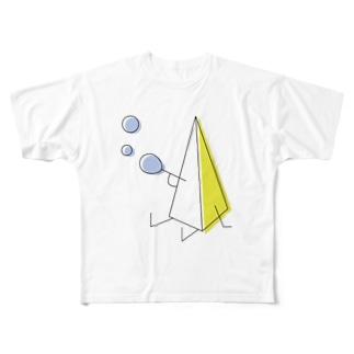 さんかくん Full graphic T-shirts