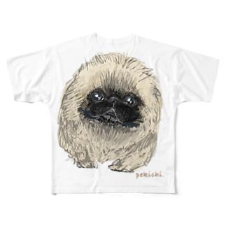 ぺきち Full graphic T-shirts