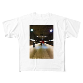 New York Metro Full graphic T-shirts