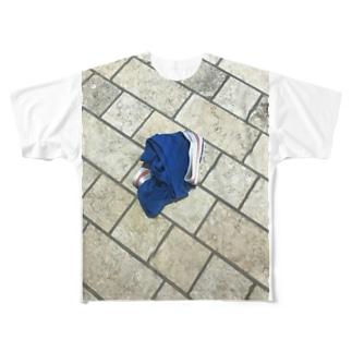 新宿♡おぱんちゅ Full graphic T-shirts