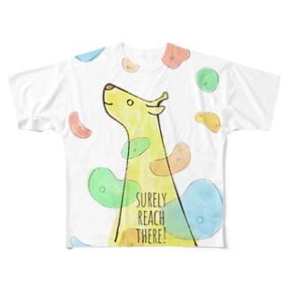 ボルダリングTシャツ Full graphic T-shirts