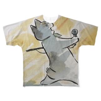 ボヘミアン・ニャプソディ Full graphic T-shirts