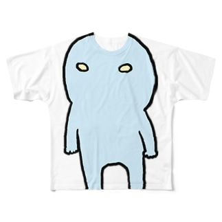 ウチウジン直立 Full graphic T-shirts