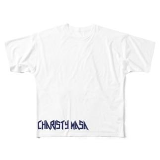 チャリスティマサ Full graphic T-shirts