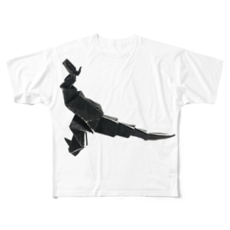りしゆな:恐竜 by はせりょう Full graphic T-shirts