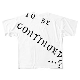 つづく… Full graphic T-shirts