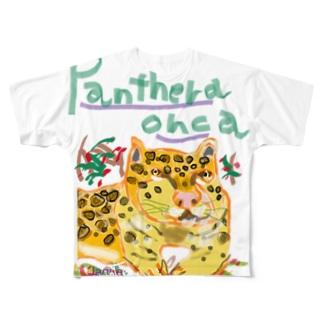 Panthera onca Full graphic T-shirts