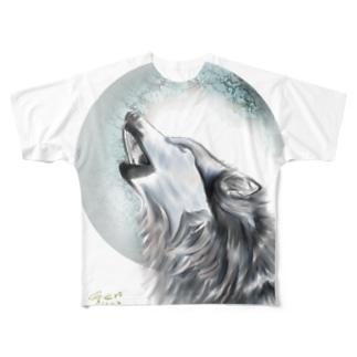 MoonWolf Full graphic T-shirts