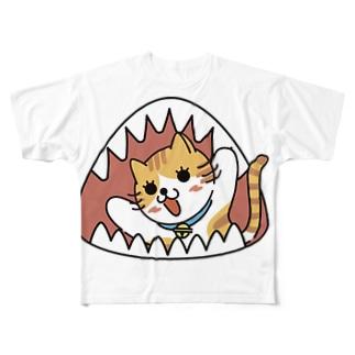 ヤッホー Full graphic T-shirts