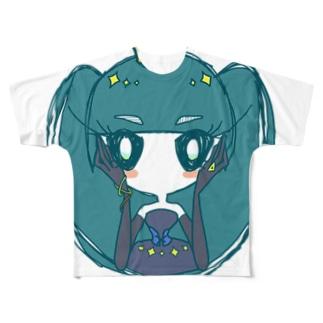アングラガメョクィ Full graphic T-shirts