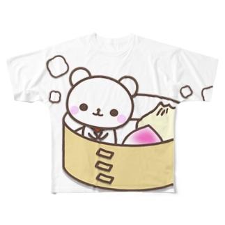 まちがえないでくまぁ Full graphic T-shirts