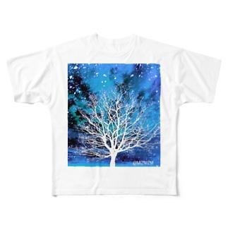 Bluesky★01 Full graphic T-shirts