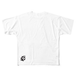 Paw  Full graphic T-shirts