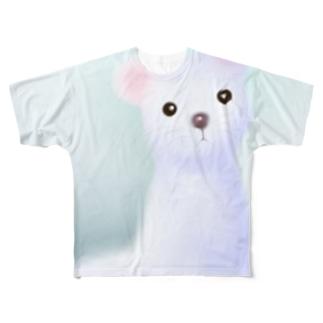 オコジョさん Full graphic T-shirts