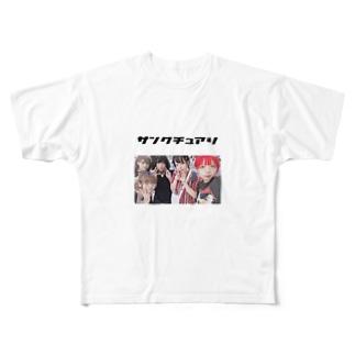 サンクチュアリ グッズ Full graphic T-shirts