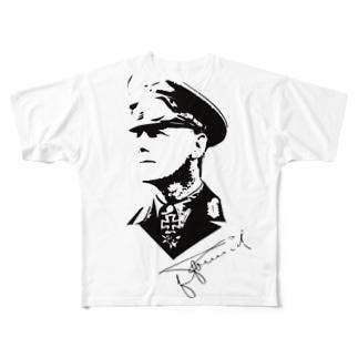 ロンメル元帥 All-Over Print T-Shirt