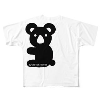 コアラ Full graphic T-shirts