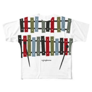 木琴 xylophone Full graphic T-shirts
