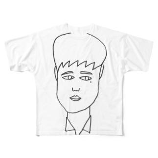 まちの大学生 Full graphic T-shirts